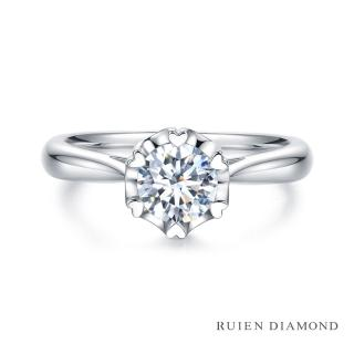 【RUIEN DIAMOND 瑞恩鑽石】GIA30分 D VVS2 3EX(18K白金 戀愛紀2 鑽石婚戒)