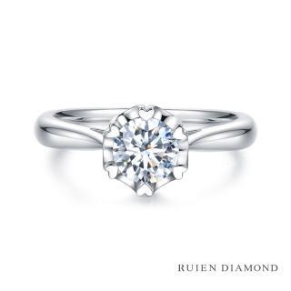 【RUIEN DIAMOND 瑞恩鑽石】GIA50分 D VS2 3EX(18K白金 戀愛紀2 鑽石婚戒)