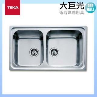 【大巨光】德國TEKA 水槽_不鏽鋼-上崁(CLASSIC-2B)