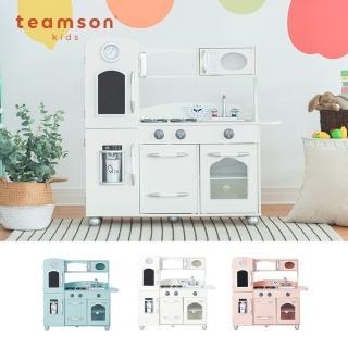 【Teamson】奧蘭多木製家家酒兒童廚房玩具(3色)