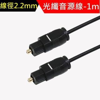 超細徑2.2mm光纖音源連接線-1m