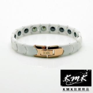 【KMK鈦鍺精品】精密陶瓷(磁鍺健康手鍊)
