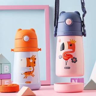 【BEDDY BEAR 杯具熊】韓國BEDDYBEAR兒童寵保溫學飲杯 兒童水壺 316保溫杯
