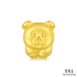 【點睛品】Charme 開運小豬 黃金串珠
