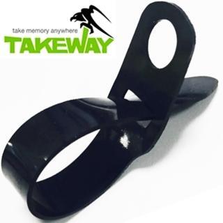 【台灣製造Takeway】鉗式腳架止滑墊T-AP01(防滑墊 橡膠墊)