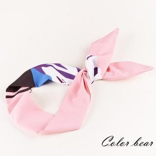 【卡樂熊】韓版森女系小清新風格造型髮帶(粉色)