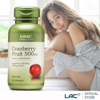 【GNC 健安喜】蔓越莓膠囊 100顆/瓶(私密呵護/保護秘密基地)