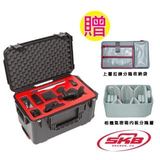 【SKB Cases】攝影機滾輪拉柄氣密箱(Canon C300MKII系列)3I-221312CAN