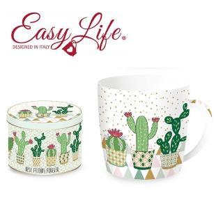【義大利Easy Life】350ml馬克杯-仙人掌C(杯子 馬克杯)