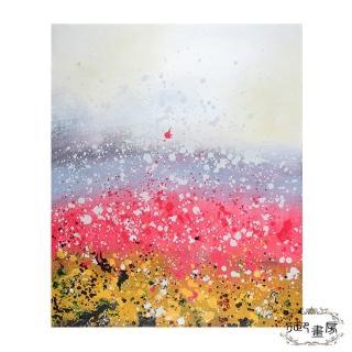 【御畫房】手繪無框油畫-繽紛響宴 50x60cm
