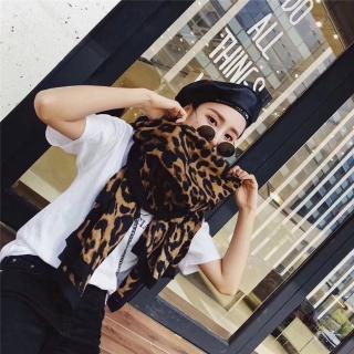 【梨花HaNA】韓國都會森林豹紋悸動圍巾