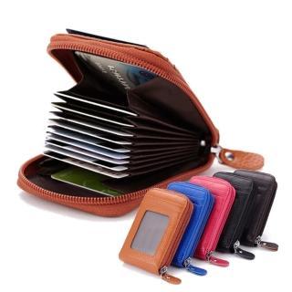 【玩皮工坊】真皮頭層牛皮男女通用風琴11卡位夾名片包卡包卡套皮夾CB09(11色可選)