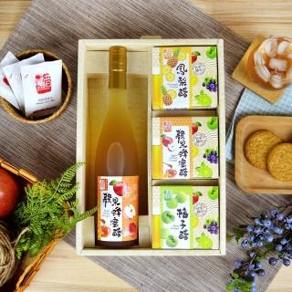 【醋桶子】醋桶子-幸福健康果醋4入禮盒組(加贈綜合隨身包2盒)