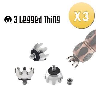 【3 Legged Thing】CLAWZ  專業三腳架不銹鋼梅花腳釘[三入]
