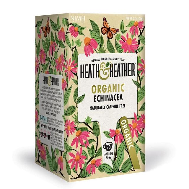 【Heath & Heather】有機紫錐菊茶(花草茶)