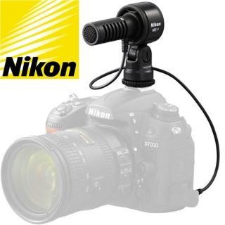 【Nikon 尼康】原廠降噪單指向電容式麥克風ME-1(防噪麥克風 降噪電容式麥克風)