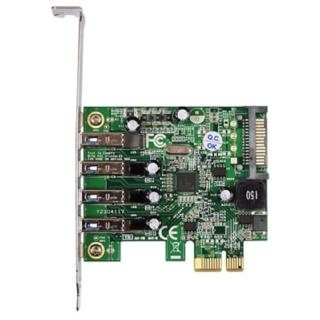 【伽利略】PCI-E USB 3.0 4 Port 擴充卡Renesas-NEC(PTU304N)