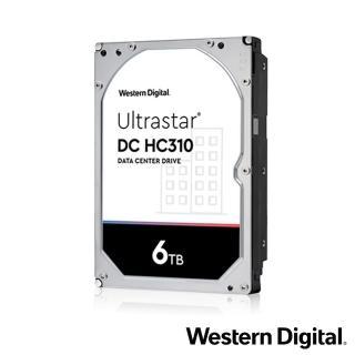 【Western Digital】Ultrastar DC HC310 6TB 3.5吋SATAIII 企業級硬碟(HUS726T6TALE6L4)