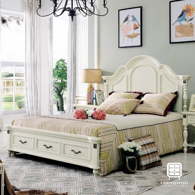 【Hampton 漢妮】米盧斯系列法式6尺雙人床架(雙人床/床組/床/床架)