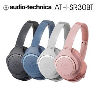 【audio-technica 鐵三角】SR30BT 輕量化 無線藍牙耳罩式耳機 續航力70HR(4色)