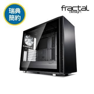 【Fractal Design】Define S2 TG 永夜黑 鋼化玻璃透側電腦機殼