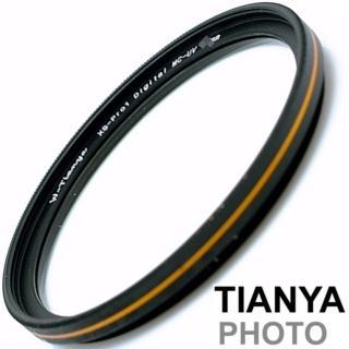【Tianya天涯】金邊薄框保護鏡MC-UV濾鏡62mm(鏡頭保護鏡 UV濾鏡)