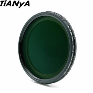 【Tianya天涯】ND Fader ND2-ND400可調式減光鏡67mm(濾鏡 減光鏡 可調式減光鏡)