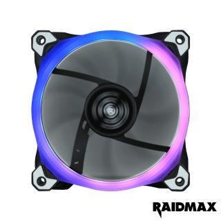 【Raidmax 雷德曼】12公分RGB可編程風扇(風扇 RGB)