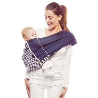【荷蘭 wallaboo】袋鼠背巾 雙色限量版(正宗哄睡背巾)