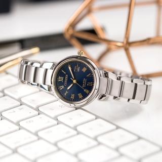 【CITIZEN 星辰】Eco-Drive 優雅內斂光動能鈦金屬時尚腕錶(EW2509-83L)