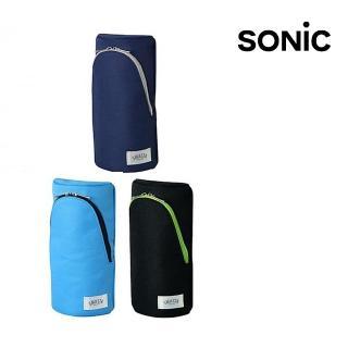 【SONIC】直立式筆袋-藍FD-7041(日本品牌鉛筆盒/筆袋/化妝包)