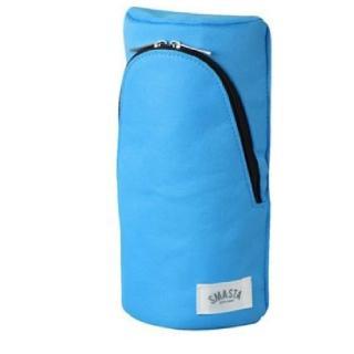 【SONIC】直立式筆袋-淺藍FD-7041(日本品牌鉛筆盒/筆袋/化妝包)