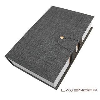 【Lavender】經藏書眼鏡收納盒-灰(收納盒)