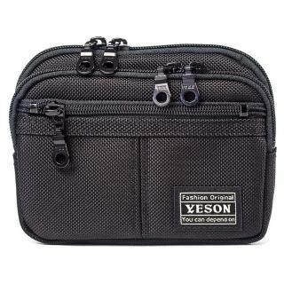 【YESON】手拿可腰掛可斜肩側多功能包(MG-682-16)