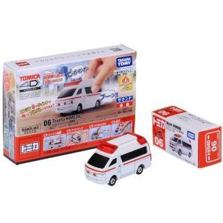 【TOMICA】4D 小汽車 06 Toyota 救護車(小汽車)