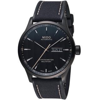 【MIDO 美度】MULTIFORT CHRONOMETER天文台機械錶(M0384313705100)