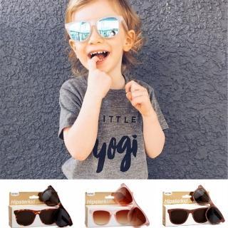 【Hipsterkid】抗UV偏光嬰幼兒童太陽眼鏡-奢華(附固定繩)