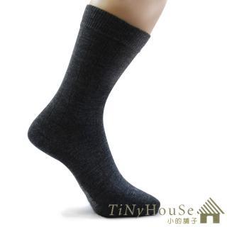 【TiNyHouSe 小的舖子】超細輕薄保暖羊毛襪 超值2雙組入(鐵灰色系L號 T-610/601)