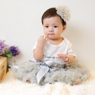 【日安朵朵】女嬰兒童雪紡蓬蓬裙 - 豌豆公主(寶寶女童澎裙禮服)