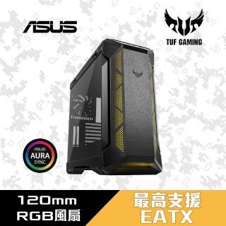 【ASUS 華碩】ROG TUF Gaming GT501 強化玻璃電競電腦機殼