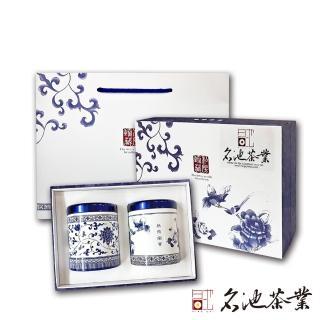【2020送禮首選】名池茶業福壽梨山極品手採茶葉禮盒任選2盒組(75g x2 / 盒  共2盒)