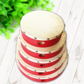 【美佳音樂】奧福打擊樂器/兒童樂器 手拍鼓 羊皮手鼓-6吋(1入)