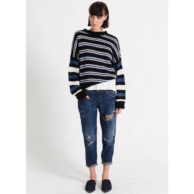 【OneTeaspoon】針織上衣 BONNIE STRIPE MOHAIR SWEATER-條紋(女)