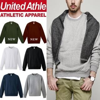 【United Athle】10.0oz重磅磨毛大學服 亞規 情侶 素色