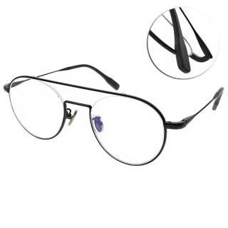 【NINE ACCORD 眼鏡】雙桿造型復古款(黑#TI-ARIN C02)