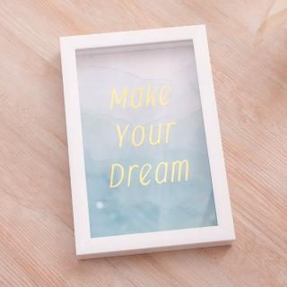 【生活工場】Make your dream掛畫
