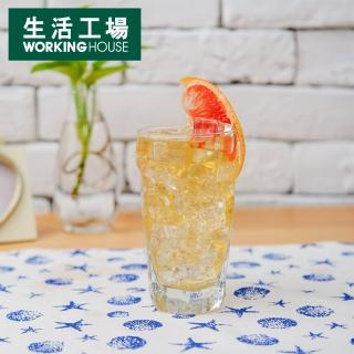 【生活工場】Libbey透明六角冷飲杯355CC