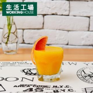 【生活工場】Libbey透明六角冷飲杯296c.c