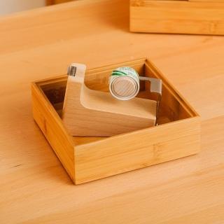 【生活工場】【女神節推薦】竹意方形收納盒
