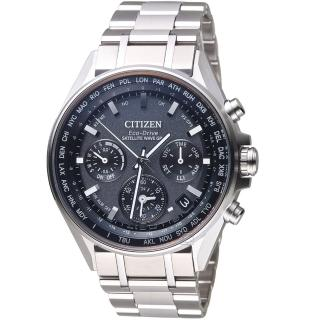 【CITIZEN 星辰】GPS衛星對時鈦金屬限量腕錶(CC4000-59E)